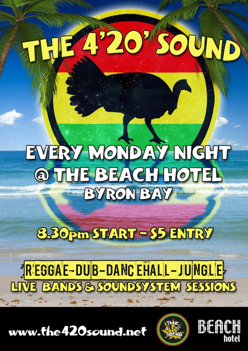 Monday Reggae with Satisvibes @ The Beach Hotel (Byron Bay)