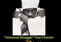 Anthony B 'universal Struggle' Tour #Brisbane