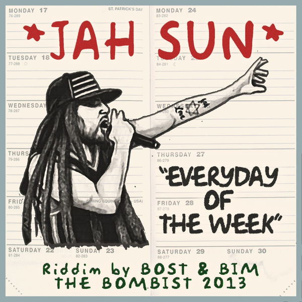 Jah Sun – Everyday of the Week