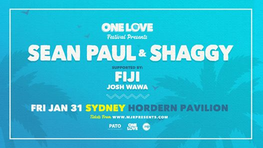 One Love Presents – Sean Paul & Shaggy (Sydney)