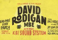 David Rodigan MBE on the KBI sound system