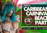 Annual caribbean Carnival beach party 3