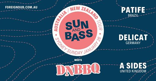 DNBBQ meets SUN and BASS #syddnb