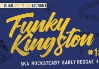 Funky Kingston #18 – free outdoor vintage Jamaican music party