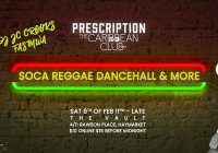 Prescription Nightclub x Dancehall, Soca, Reggae