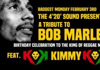 Bob Marley Bday Tribute w' KIMMY.