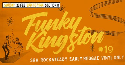 Funky Kingston #19 – free outdoor vintage Jamaican music party