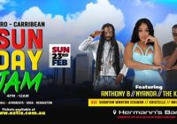 Sunday JAM Sydney ft Anthony B , Nyanda , The Kemist