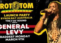 Rototom Sunsplash Launch Party w' General Levy / Baddest Monday